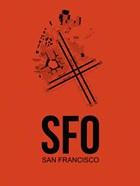 SFO San Francisco Airport Orange