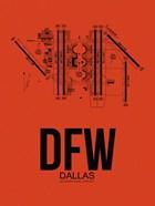 DFW Dallas Airport Orange