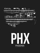 PHX Phoenix Airport Black