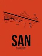 SAN San Diego Airport Orange