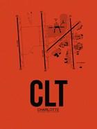 CLT Charlotte Airport Orange