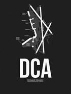 DCA Washington Airport Black
