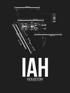 IAH Houston Airport Black