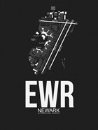 EWR Newark Airport Black