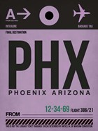 PHX Phoenix Luggage Tag 1