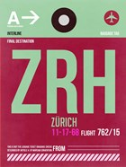 ZRH Zurich Luggage Tag 2
