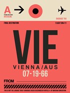 VIE Vienna Luggage Tag 1