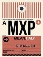 MXP Milan Luggage Tag 1