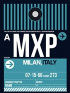 MXP Milan Luggage Tag 2
