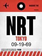 NRT Tokyo Luggage Tag 1