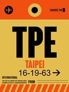 TPE Taipei Luggage Tag 2