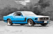 1970 Ford Mustang Boss Blue