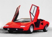 1974 Lamborghini Countach Open Doors