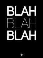 BLAH BLAH BLAH Black