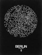 Berlin Street Map Black