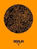 Berlin Street Map Yellow