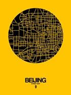 Beijing Street Map Yellow