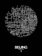 Beijing Street Map Black