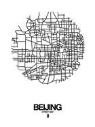 Beijing Street Map White