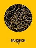 Bangkok Street Map Yellow