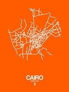 Cairo Street Map Orange
