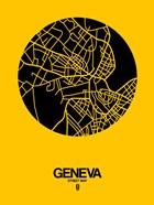Geneva Street Map Yellow