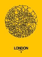 London Street Map Yellow