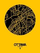 Ottawa Street Map Yellow