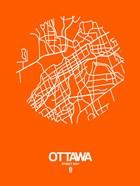 Ottawa Street Map Orange
