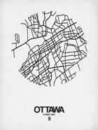 Ottawa Street Map White