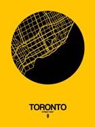 Toronto Street Map Yellow