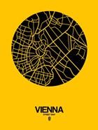 Vienna Street Map Yellow