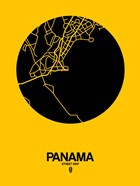 Panama Street Map Yellow