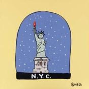 N.Y.C. Snow Globe