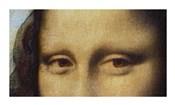 Mona Lisa - Detail Of Eyes