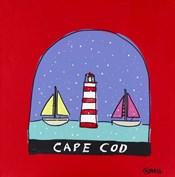 Cape Cod Snow Globe