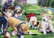Golfing Puppies