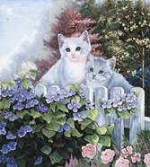 Kittens In The Master's Garden