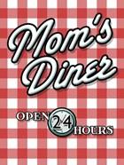Moms Diner Red Checkered