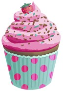 Chocolate Cupcake Pink