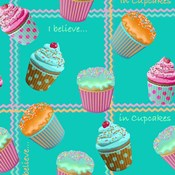 Cupcake Turquoise