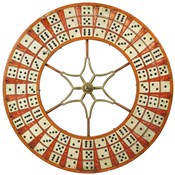Gambling Wheel - Dominoes