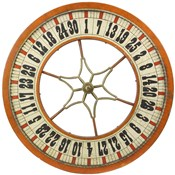Gambling Wheel - Wood