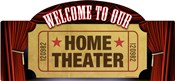 Home Theater Marquee