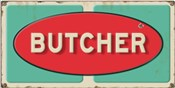 Butcher Embossed