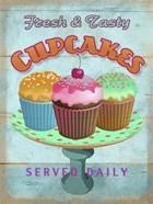 Cupcakes Retro Fresh