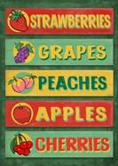 Farm Stand Board - Fruit