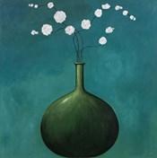 Vase on Blue