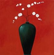 Vase on Red
