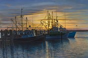 Point Judith Harbor Sunset